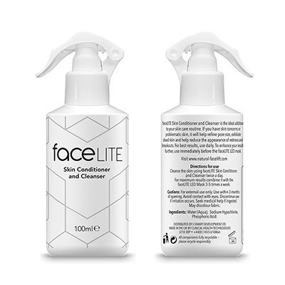 FaceLITE Skin Conditioner and Cleanser
